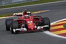Comisario explicó la dura sanción de Räikkönen en Bélgica