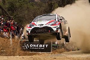 WRC レグ・レポート 【WRC】メキシコ最終日:6位&7位のトヨタ、初グラベルを無事完走