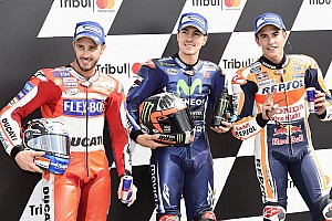 MotoGP Qualifying report Misano MotoGP: Vinales grabs pole as Marquez crashes