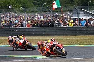 MotoGP Actualités Le pneu avant tendre à l'origine du retard de Márquez sur Pedrosa