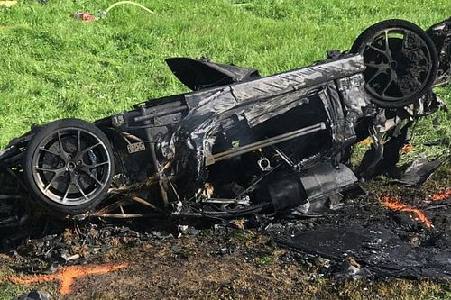 Richard Hammond accidenté dans une course de côte