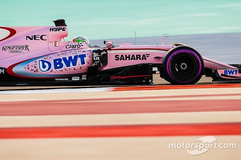 Alfonso Celis muestra mejora con Force India