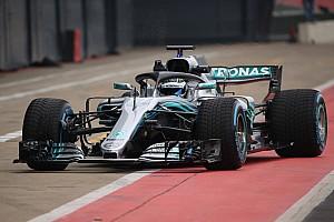 Photos - La présentation de la Mercedes F1 W09