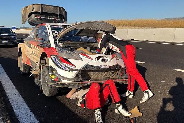 WRC レグ・レポート WRCイタリア土曜日:ラトバラがリタイア、オジェvsヌービル一騎打ち