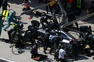Fórmula 1 Noticias Mercedes rompió su propio récord de pitstop en China