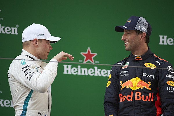 Mercedes: Bottas, Ricciardo'nun