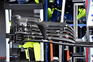 Formula 1 Breaking news Williams introduces new front wing design