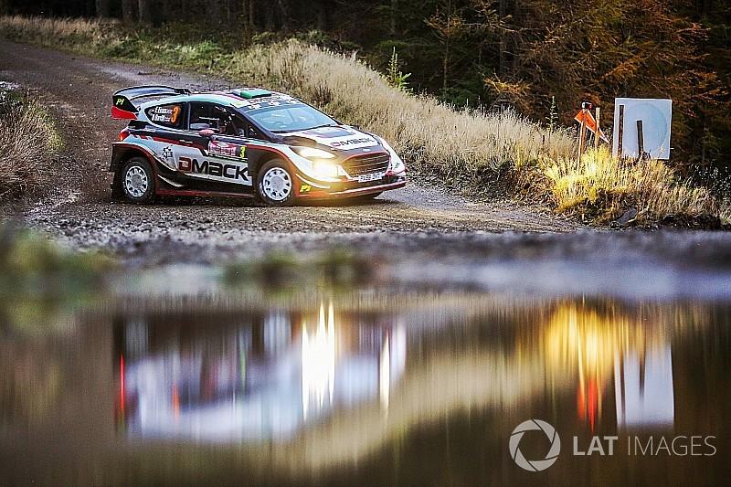 WRCイギリス:首位エバンス、大差をつけ最終日へ。ハンニネンがリタイア