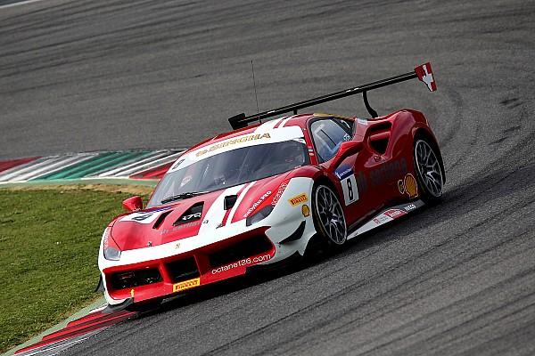 Ferrari Race report Ferrari World Finals: Leimer prevails in Trofeo Pirelli finale