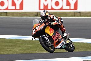 Moto3 Nieuws Techniek laat Bendsneyder in de steek tijdens GP Australië