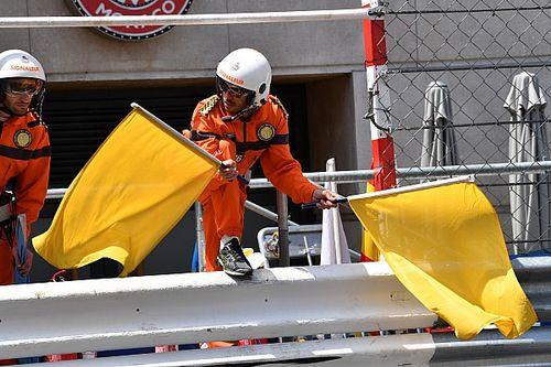 F1-coureurs blij met schrappen rondetijden bij dubbele gele vlag