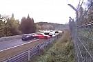 OTOMOBİL Nurburgring'de 14 aracın birbirine girdiği feci kaza!