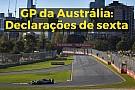 VÍDEO: As declarações dos pilotos após a sexta na Austrália