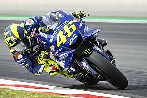 MotoGP Réactions Rossi concentré sur les pneus,