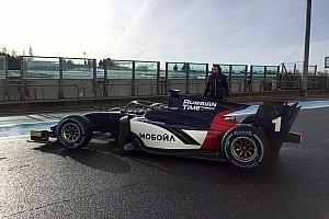 FIA F2 Важливі новини Команди Ф2 вперше випробували нові боліди з Halo