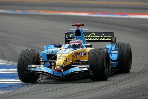 Alonso girará en Abu Dhabi con su Renault de 2005