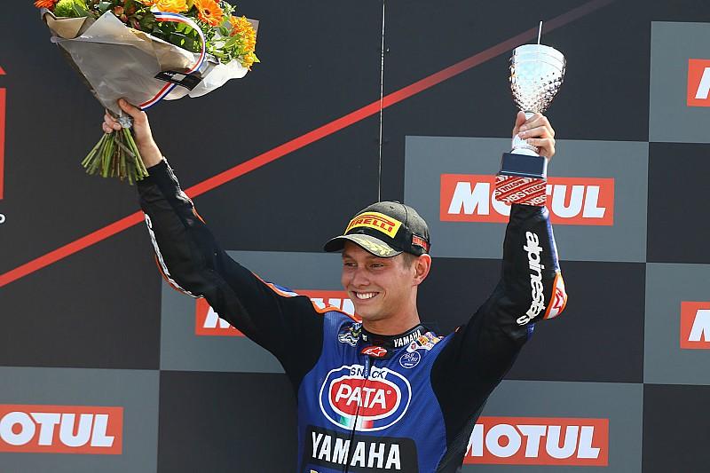 WSBK, Донінгтон: два Kawasaki програли гонку Ван дер Марку на Yamaha