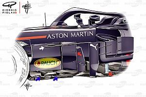 Formule 1 Analyse Tech analyse: De agressieve veranderingen van Red Bull voor 2018
