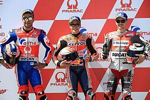 Starting grid MotoGP Jerman 2018