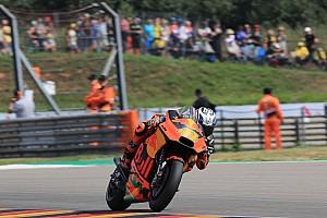 MotoGP Practice report Sachsenring MotoGP: Espargaro leads red-flagged warm-up