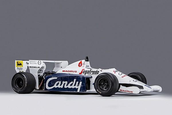 La Toleman pilotée par Senna à Monaco est à vendre