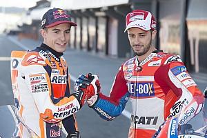 MotoGP Reactions Marquez akui belajar banyak dari Dovizioso