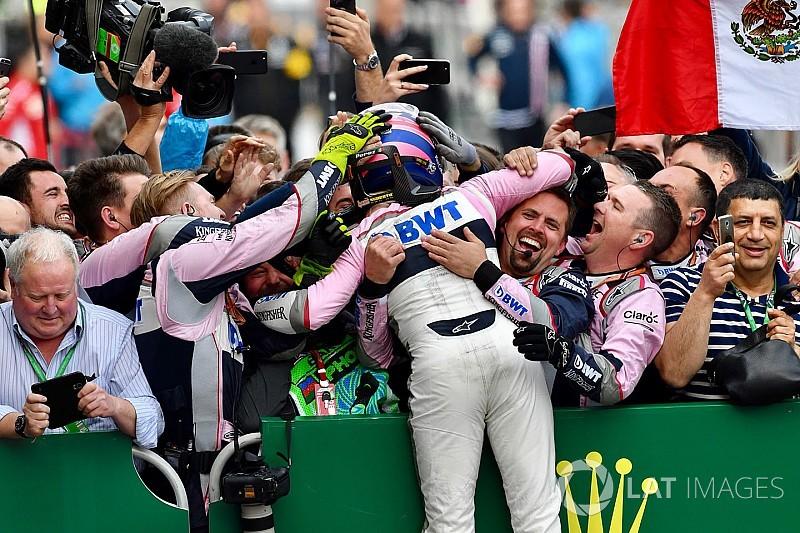 """Force India """"ait olduğu yere"""" dönmeye başladığı için mutlu"""