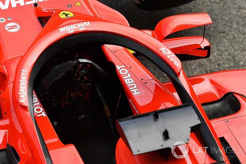 Waarom de FIA de halo-vleugel van Ferrari verboden heeft