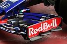Toro Rosso reveals unique new front wing