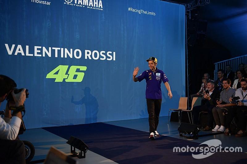 Yamaha presenta en Yakarta y de madrugada la nueva M1 2019 de Rossi y Viñales
