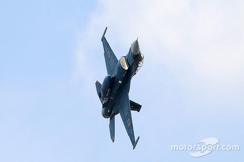 スーパーGT最終戦にて、戦闘機「F-2」の歓迎フライトが決定