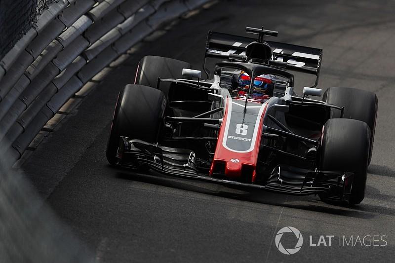 """Grosjean et Haas """"pas au mieux"""" avec les pneus"""