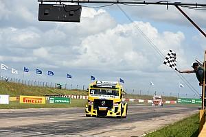 Fórmula Truck Relato da corrida Felipe Giaffone vence em Santa Cruz do Sul