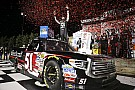 NASCAR Truck Blown engine robs Rhodes of first win, handing victory to Busch