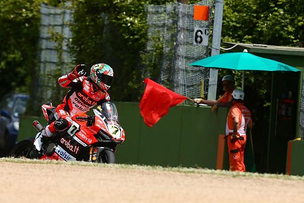 Superbike-WM Superbike-WM Italien: Chaz Davies gewinnt den ersten Imola-Lauf nach Abbruch