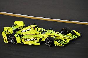IndyCar Reporte de prácticas Pagenaud es el mejor en la práctica vespertina en Iowa