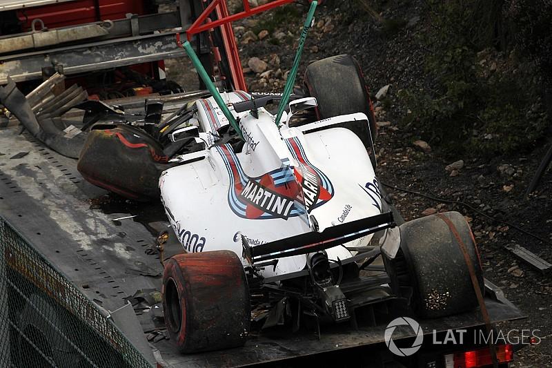 【F1】マッサ、FP1でのクラッシュによりシャシーを交換