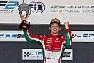 FIA F2 Charles Leclerc draagt F2-titel op aan overleden vader