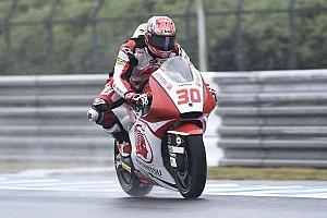Moto2 Qualifying report Moto2 Jepang: Nakagami start terdepan, Morbidelli ke-15