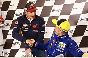 Márquez: Rossi tem experiência, mas experiência não é tudo
