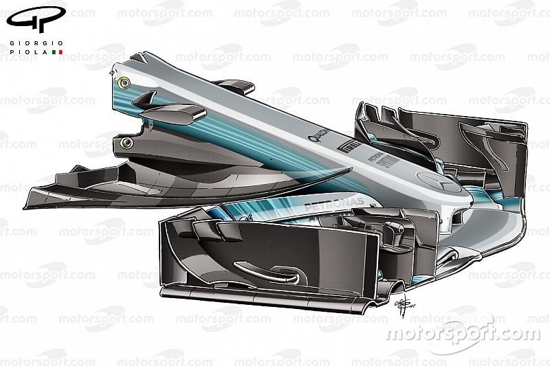 Formel-1-Technik: Entwicklung des Mercedes F1 W08 in der Saison 2017