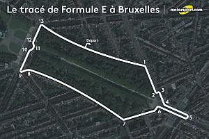 Formule E Actualités L'ePrix de Bruxelles dépend du choix d'un circuit