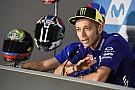 Rossi 6 kört tett meg az első edzésen