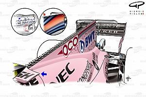 Formel 1 Fotostrecke Formel-1-Technik: Entwicklung des Force India VJM10 in der Saison 2017