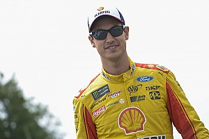 NASCAR Cup Interview Logano on fatherhood: