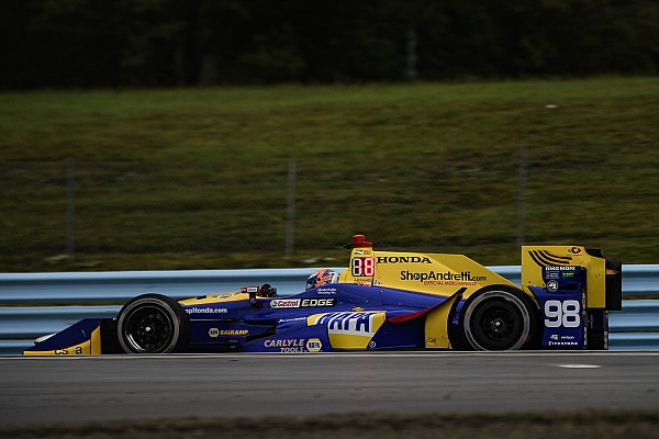 "IndyCar Rossi: Alternative tire strategy was ""confidence building"""