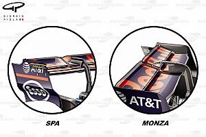 F1 Análisis Análisis técnico: así afrontaron los equipos la baja carga de Monza