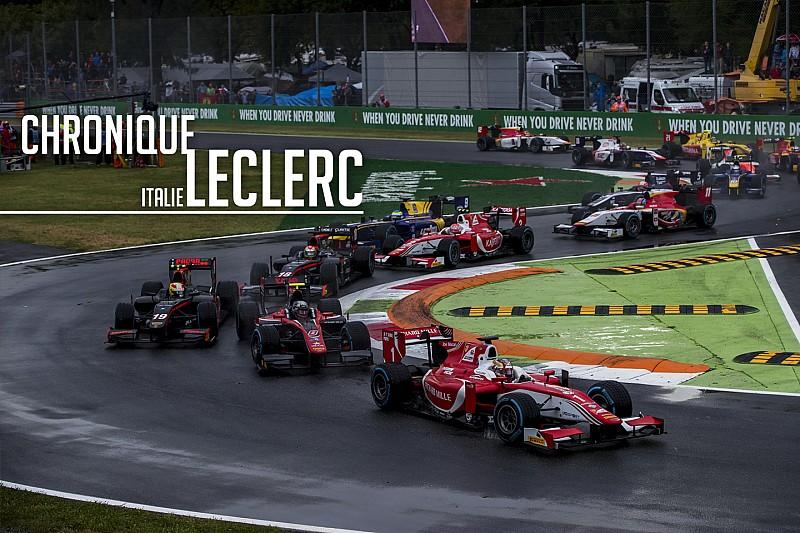 Chronique Leclerc - Privé d'une victoire à Monza par un accident