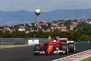 Formel 1 Rennbericht Formel 1 2017 in Budapest: Vettel rettet Sieg und WM-Führung