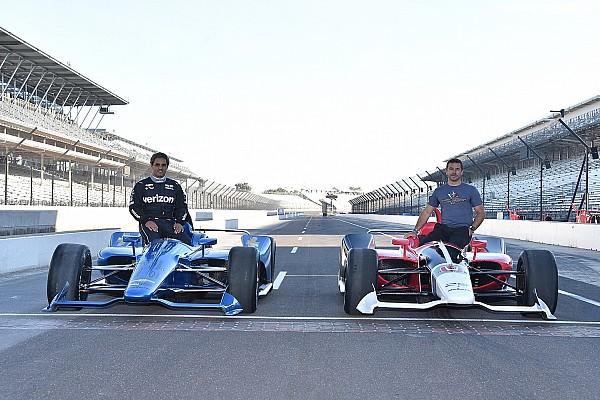 IndyCar Últimas notícias GALERIA: Primeiro teste de novo carro da Indy